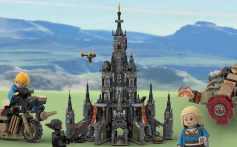 LEGO Ideas Hyrule Castle von Brickgallery