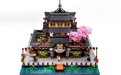 LEGO Ideas SpaceBricks54 The Dojo