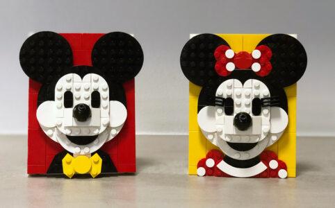 LEGO Brick Sketches 40456 Micky Maus und 40457