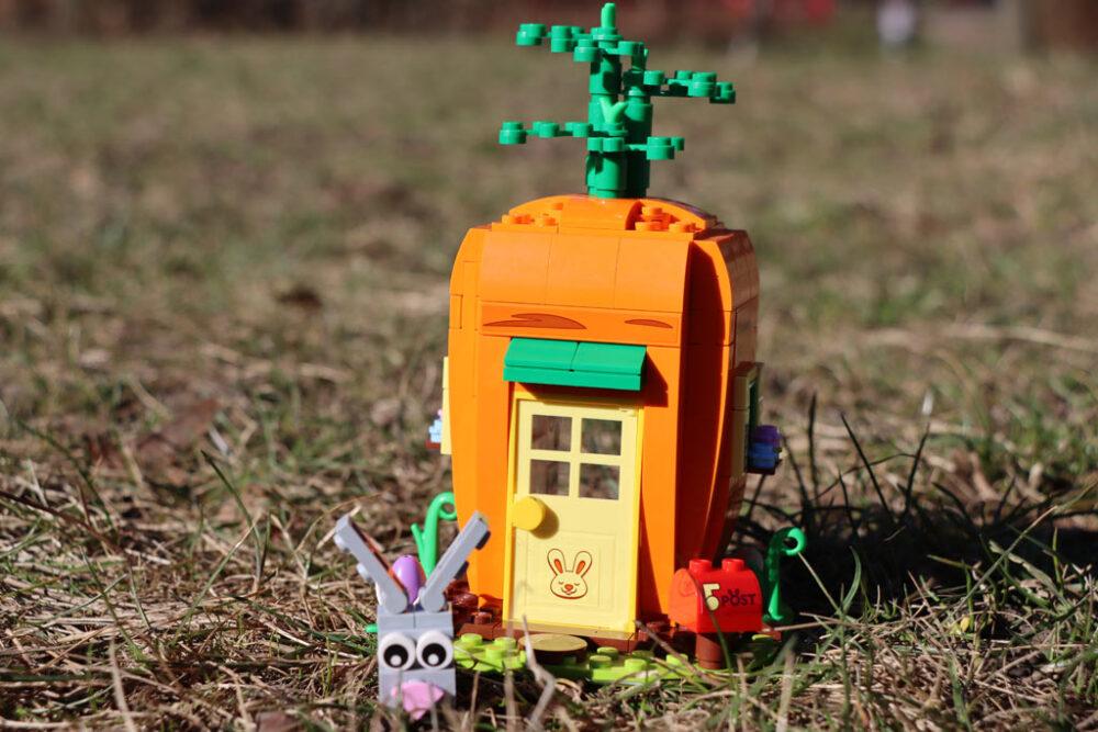 LEGO Seasonal 40449 Karottenhaus des Osterhasen